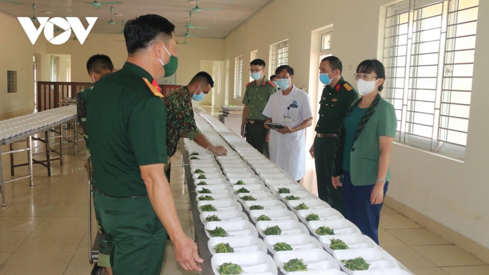 Lào Cai hỗ trợ tiền ăn cho công dân từ các tỉnh phía Nam về phải cách ly