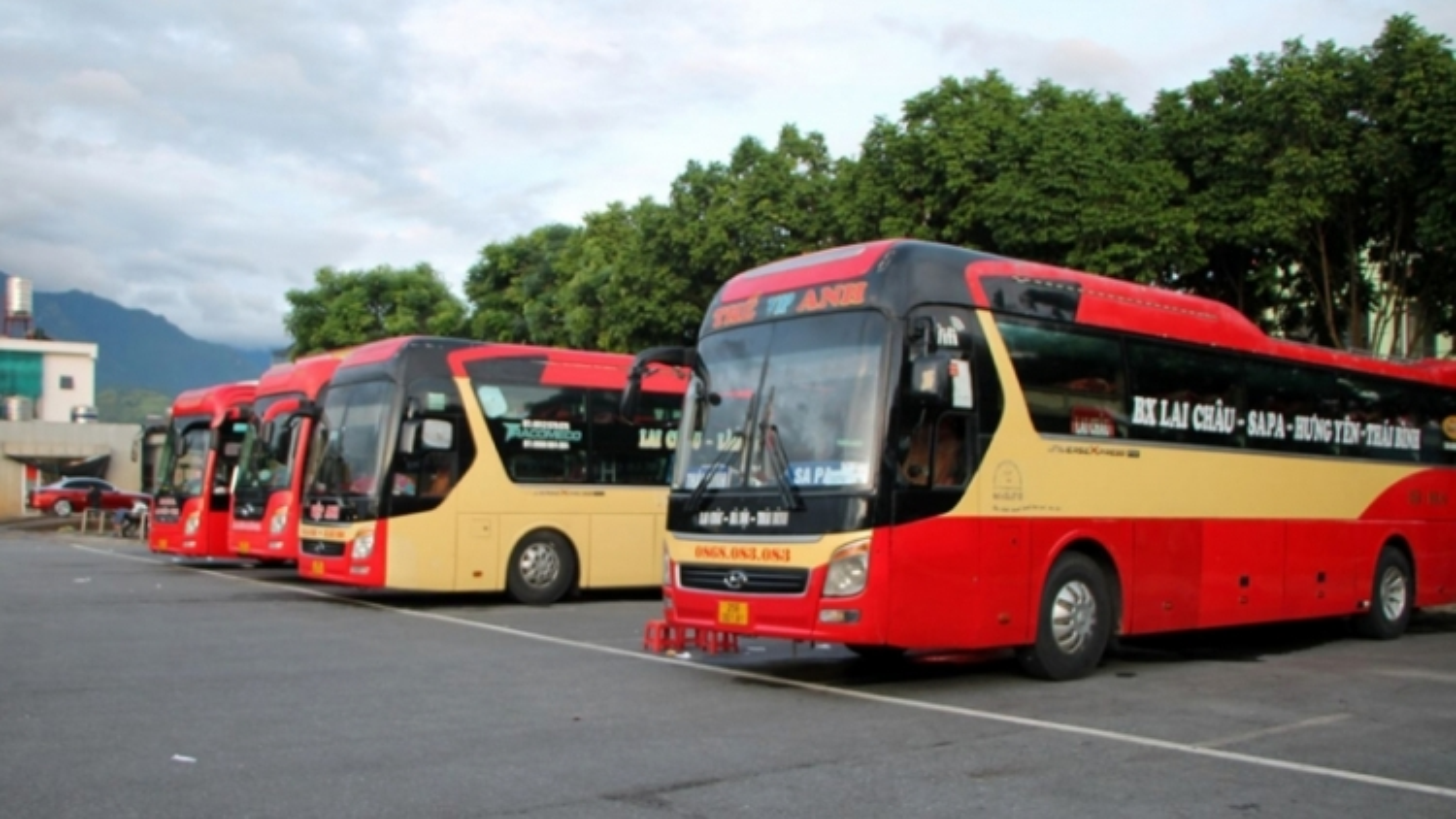 Lai Châu khôi phục tạm thời hoạt động các tuyến vận tải hành khách cố định liên tỉnh