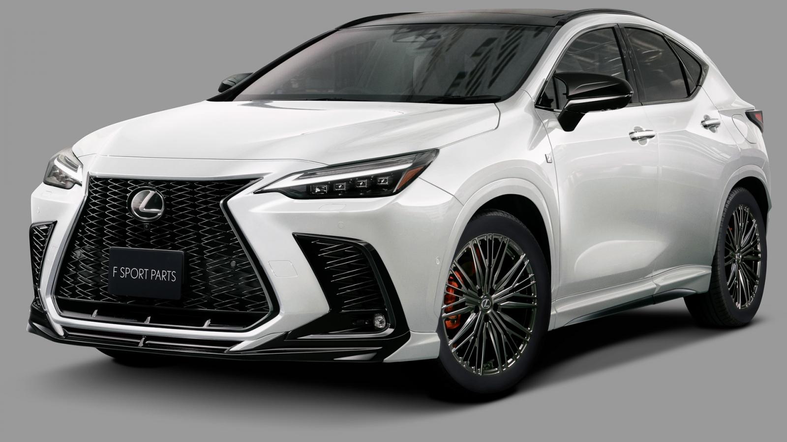 """Lexus NX 2022 """"ngầu"""" hơn với gói phụ kiện của TRD"""