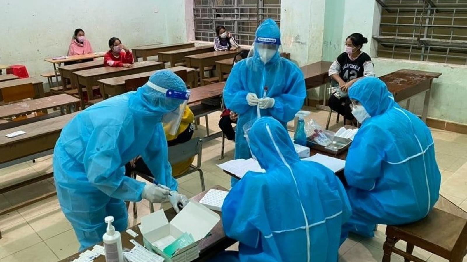 Quảng Nam ghi nhận thêm 12 ca mắc Covid-19 tại 2 huyện miền núi Phước Sơn và Nam Giang