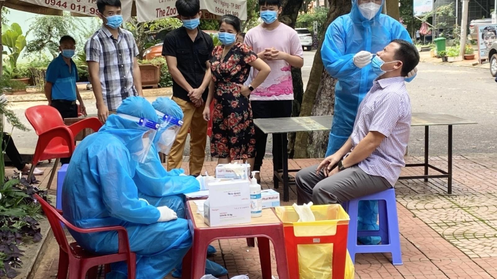 Đắk Lắk ghi nhận thêm 131 trường hợp nhiễm SARS-CoV-2