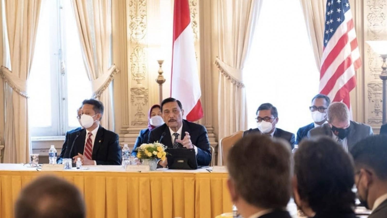 Mỹ cam kết hợp tác với Indonesia hỗ trợ Đông Nam Á thịnh vượng, ổn định
