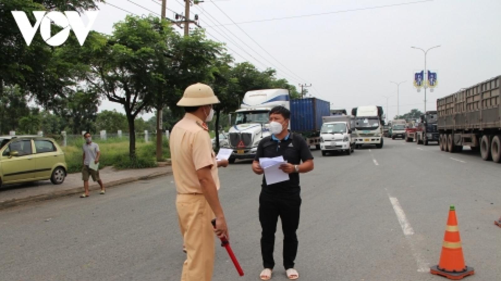 Bà Rịa – Vũng Tàu có 3 ca mắc COVID-19 mới liên quan đến lái xe từ ngoài vào tỉnh