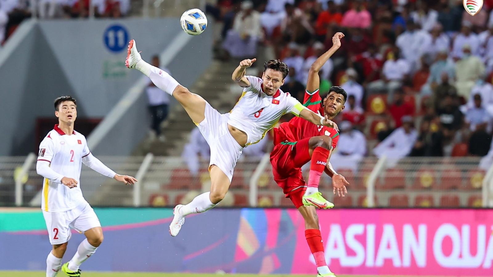 Xếp hạng bảng B vòng loại World Cup 2022: ĐT Việt Nam vẫn chưa có điểm