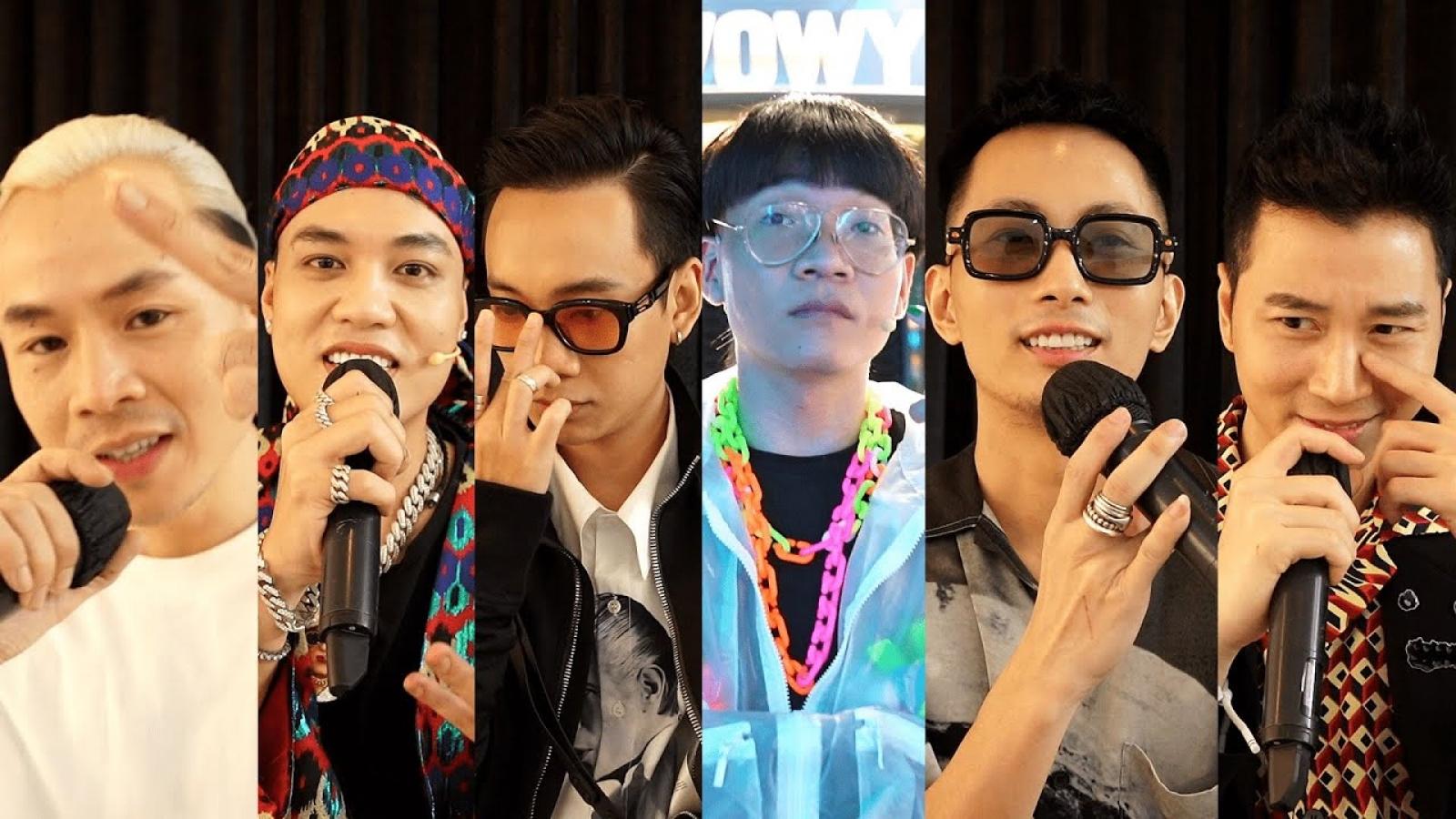 Binz, Karik và dàn HLV, giám khảo quyền lực hào hứng trở lại Rap Việt mùa 2
