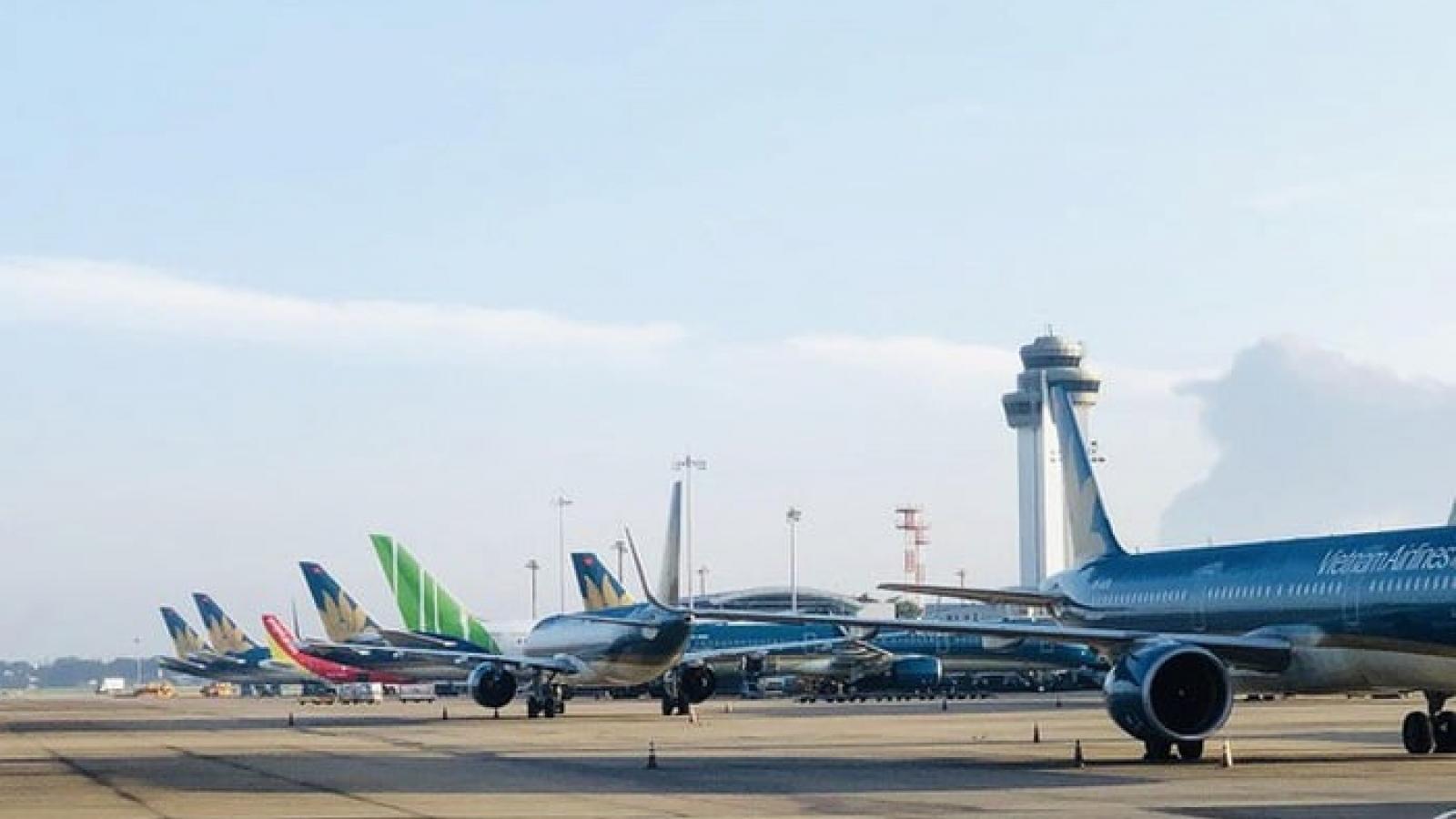 Không xét nghiệm hành khách, 3 hãng hàng không khôi phục hết đường bay trong nước