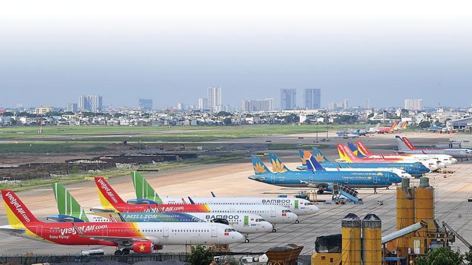 Hà Nội đồng ý cho mở lại 2 đường bay tới TP.HCM và Đà Nẵng