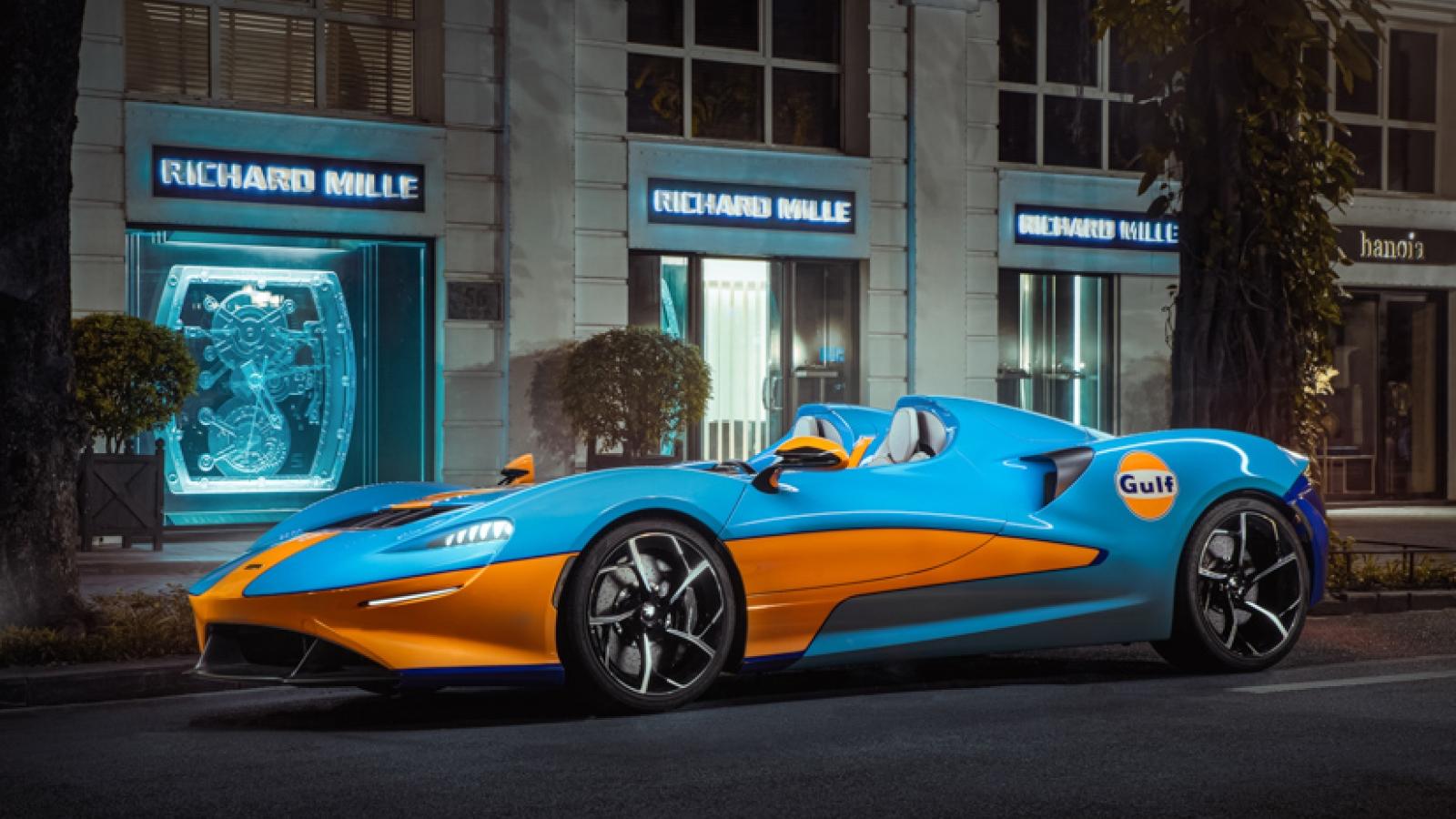 Siêu xe trăm tỷ - McLaren Elva khoe dáng trên đường phố Hà Nội