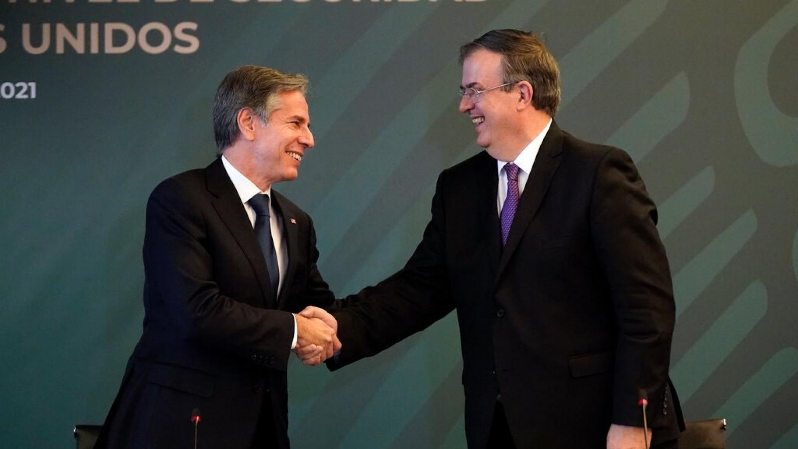Mexico - Mỹ đạt thỏa thuận về hợp tác an ninh mới