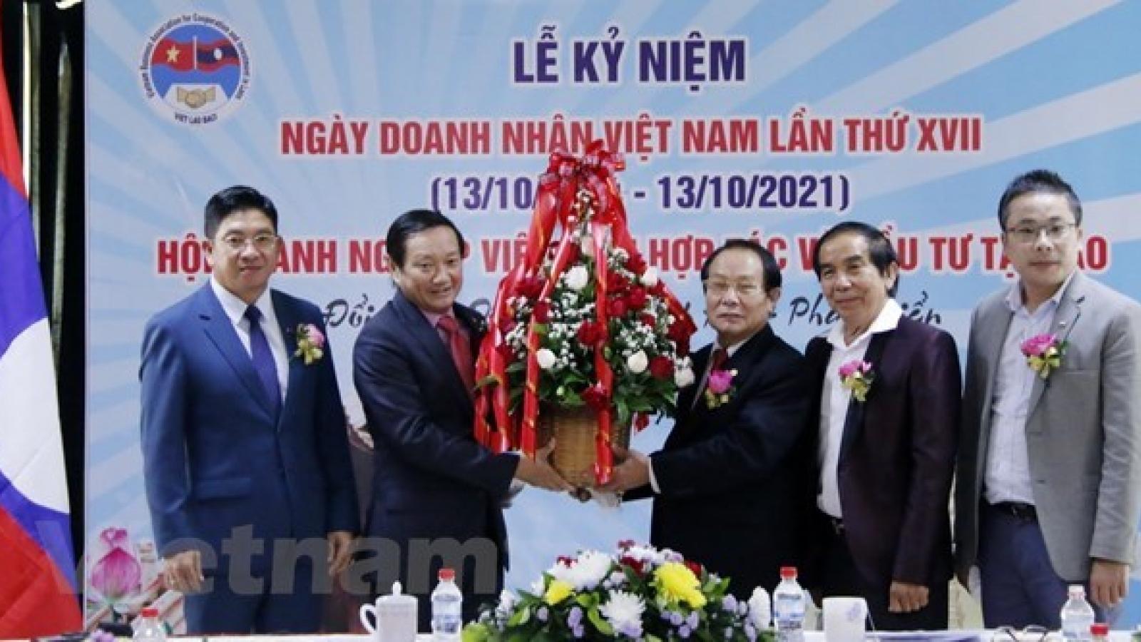 Vietnamese businesses greatly contribute to Laos's socio-economic development