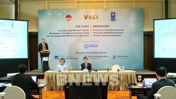 Seminar seeks to improve firms' role in climate change response