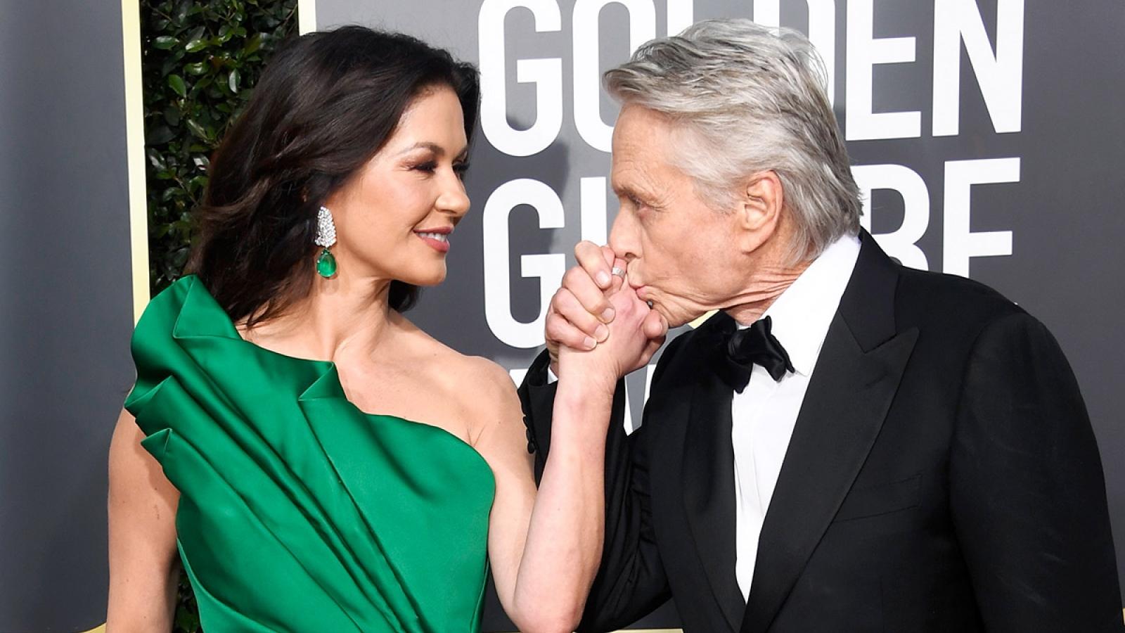 Tình yêu bất chấp tuổi tác của Catherine Zeta-Jones và Michael Douglas