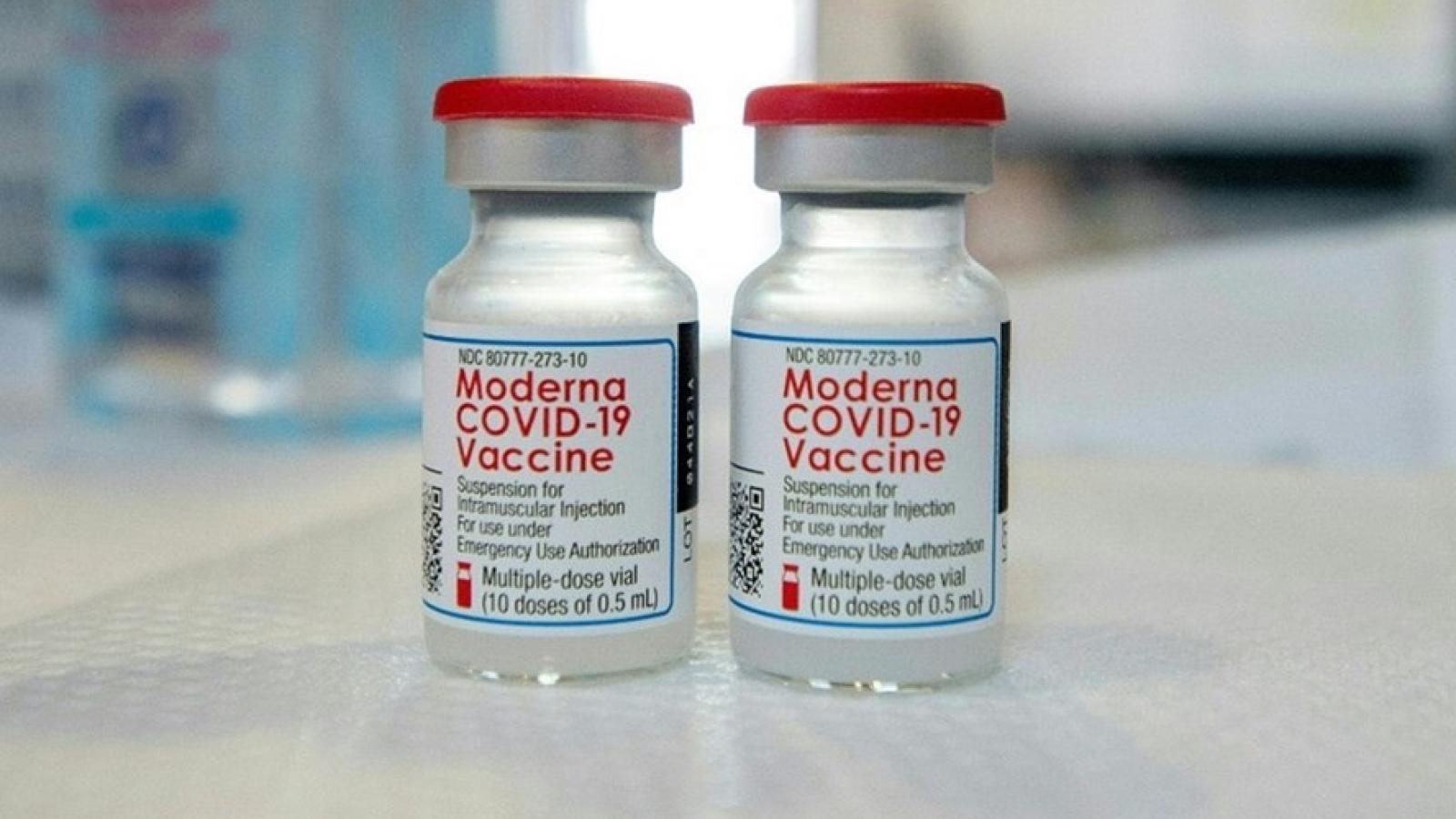 Một số nước dừng sử dụng vaccine Moderna cho nhóm người dưới 30 tuổi