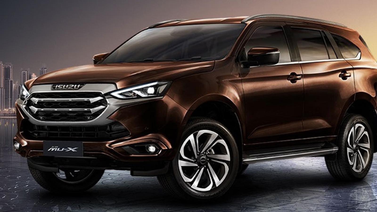 Isuzu Mu-X đứng đầu bảng xếp hạng xe bán chậm nhất tháng 9
