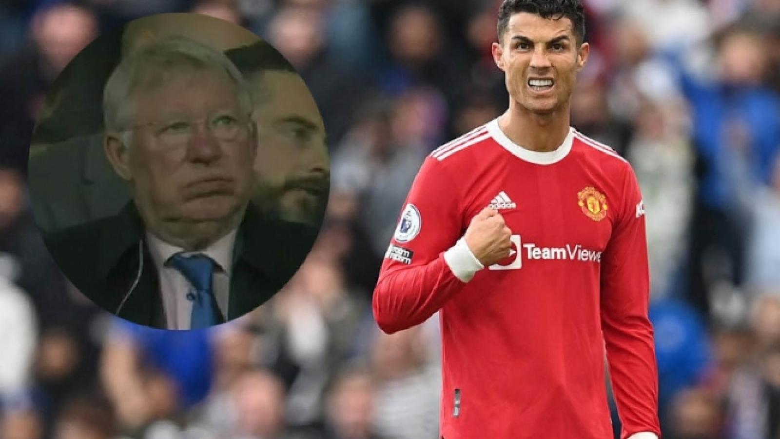 Cận cảnh: Ronaldo và Sir Alex bất lực nhìn MU bị Liverpool vùi dập
