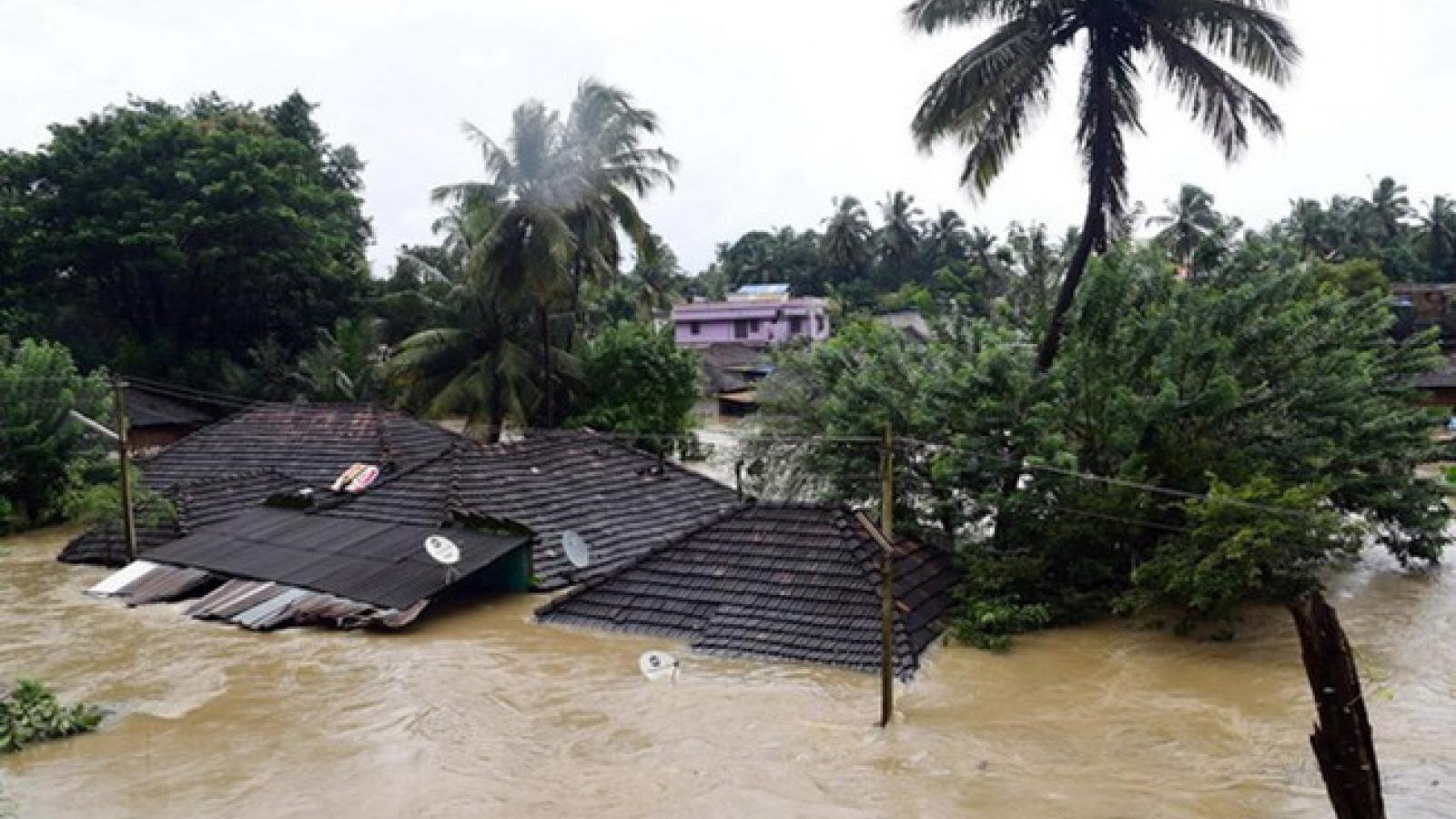 Mưa lũ nghiêm trọng tại Ấn Độ khiến 18 người thiệt mạng