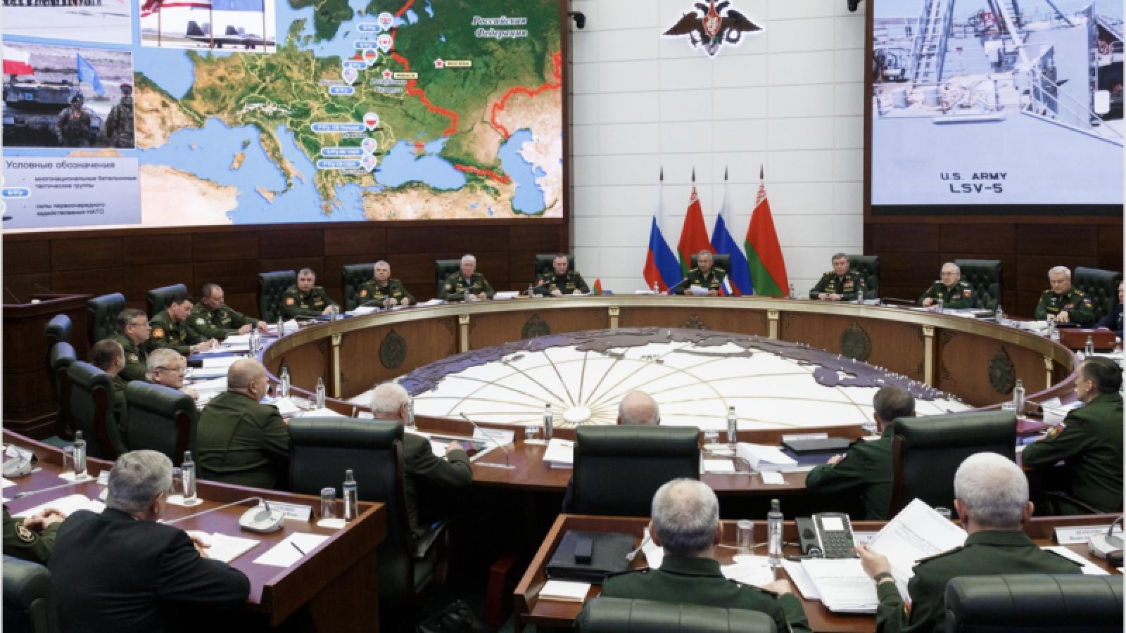 Nga, Belarus chuẩn bị học thuyết quân sự mới cho Nhà nước Liên minh