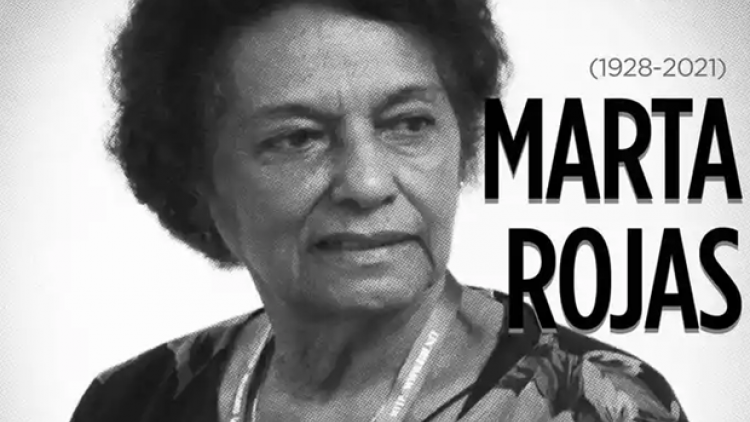 President pays floral tribute to Cuban journalist-writer Marta Rojas