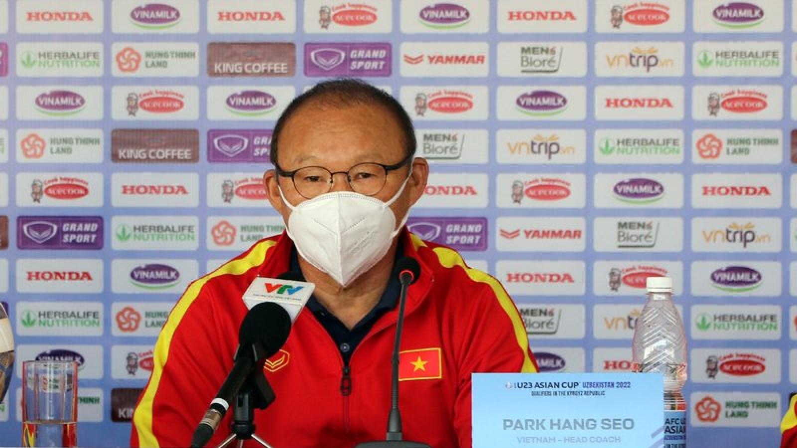 U23 Việt Nam - U23 Đài Bắc Trung Hoa: Thầy Park tìm lại nụ cười?