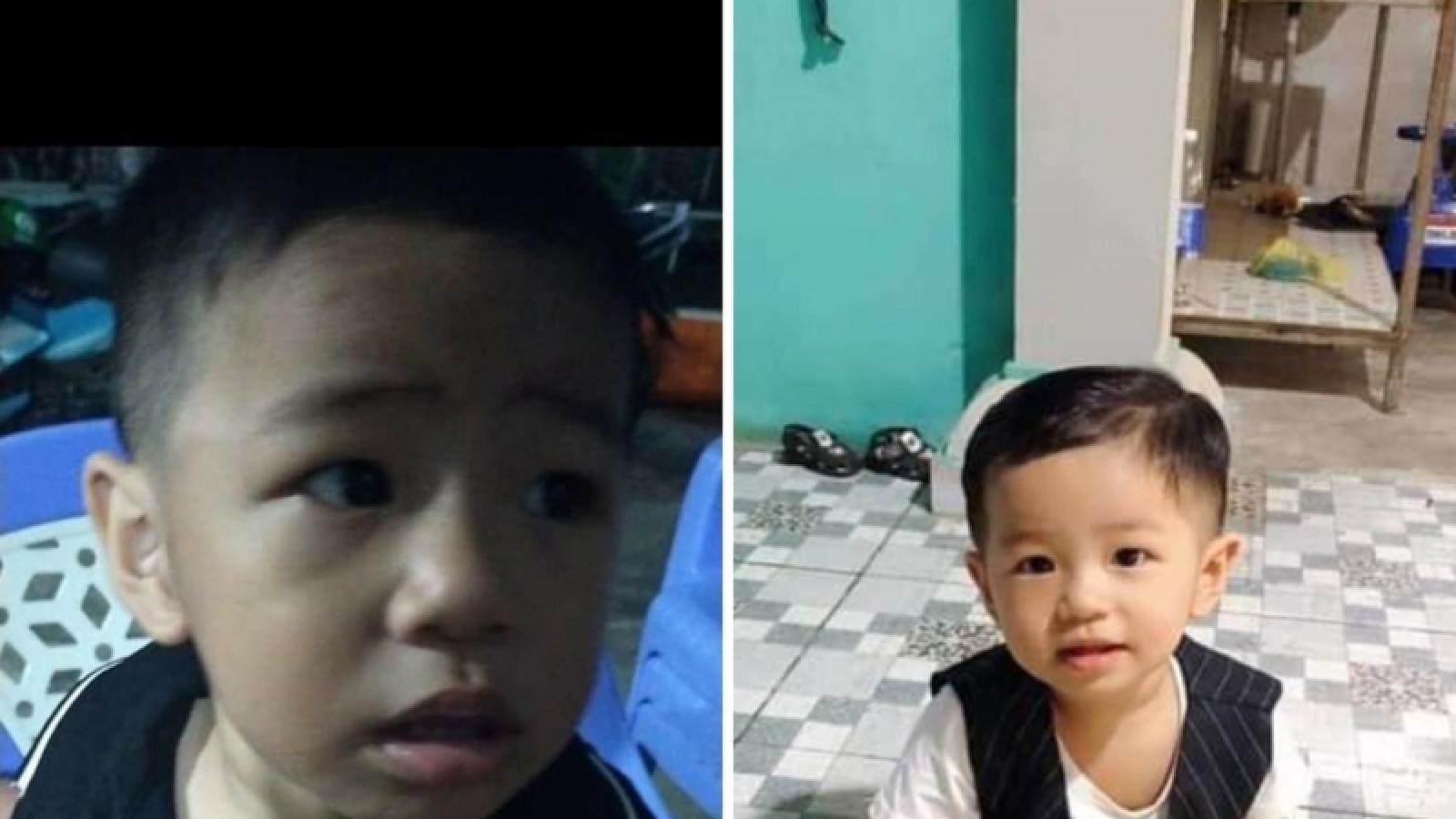 Bé trai 2 tuổi ở Bình Dương mất tích bí ẩn