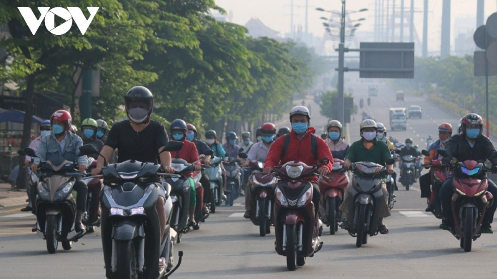 Four local COVID-19 alert levels in Vietnam