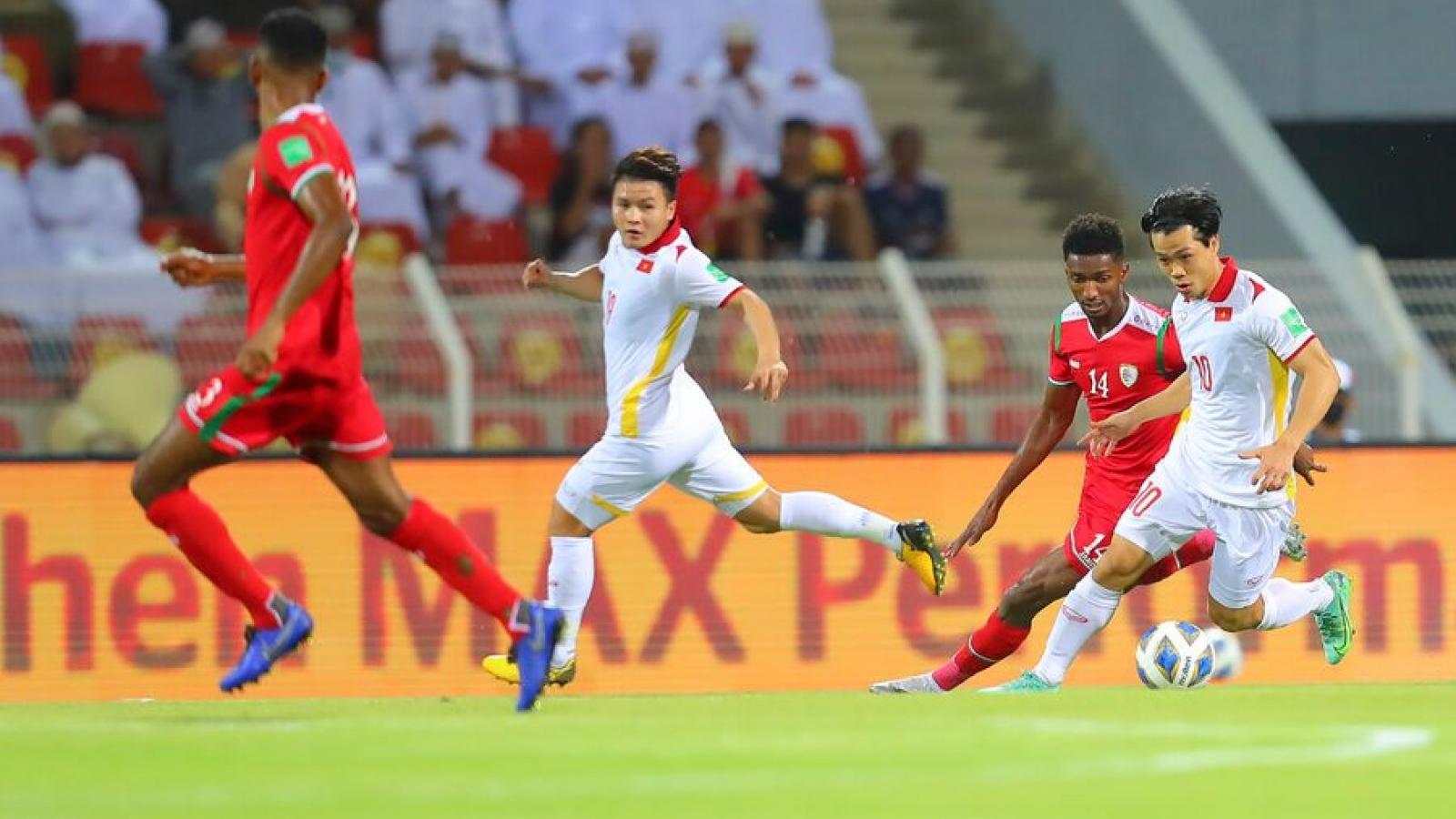 Dư âm Oman 3-1 Việt Nam: Nỗ lực thay đổi bất thành của HLV Park Hang Seo