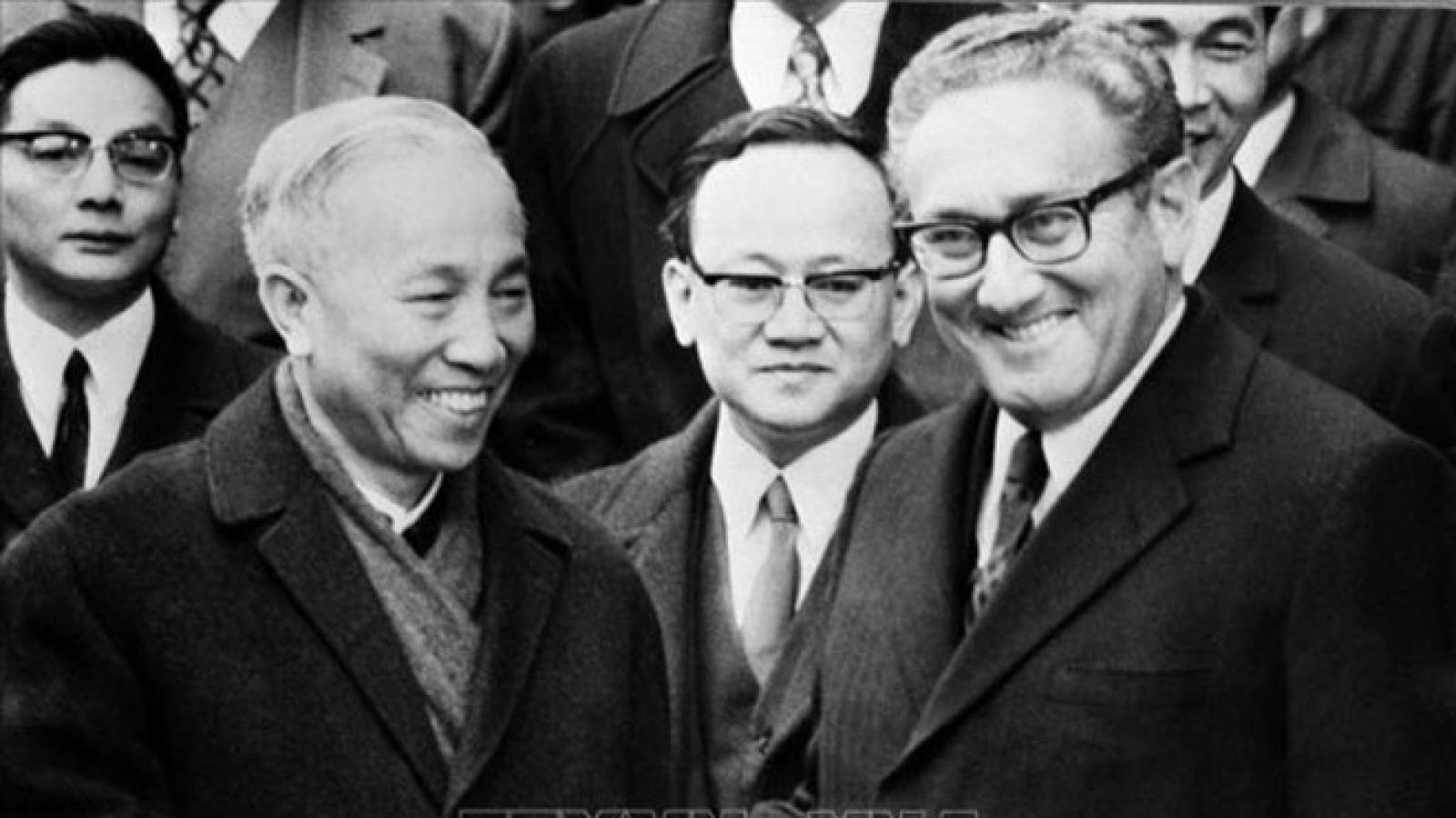 Nhà lãnh đạo tài năng Lê Đức Thọ với cuộc đàm phán Paris lịch sử