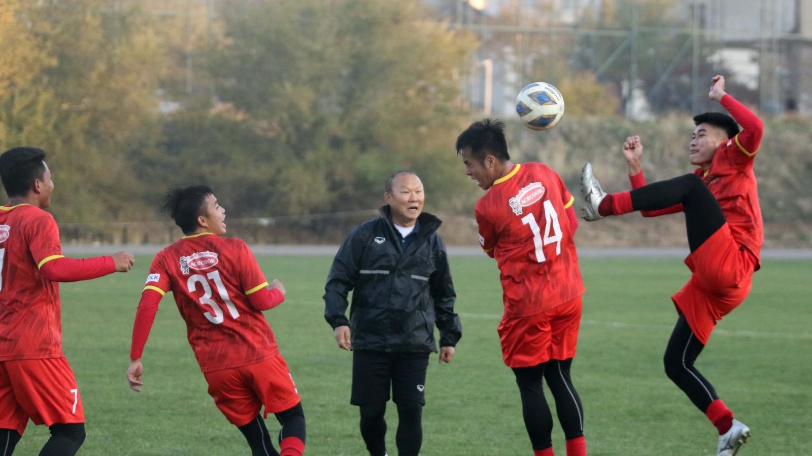 HLV Park Hang Seo vắng mặt khi ĐT Việt Nam tập trung chuẩn bị đấu ĐT Nhật Bản