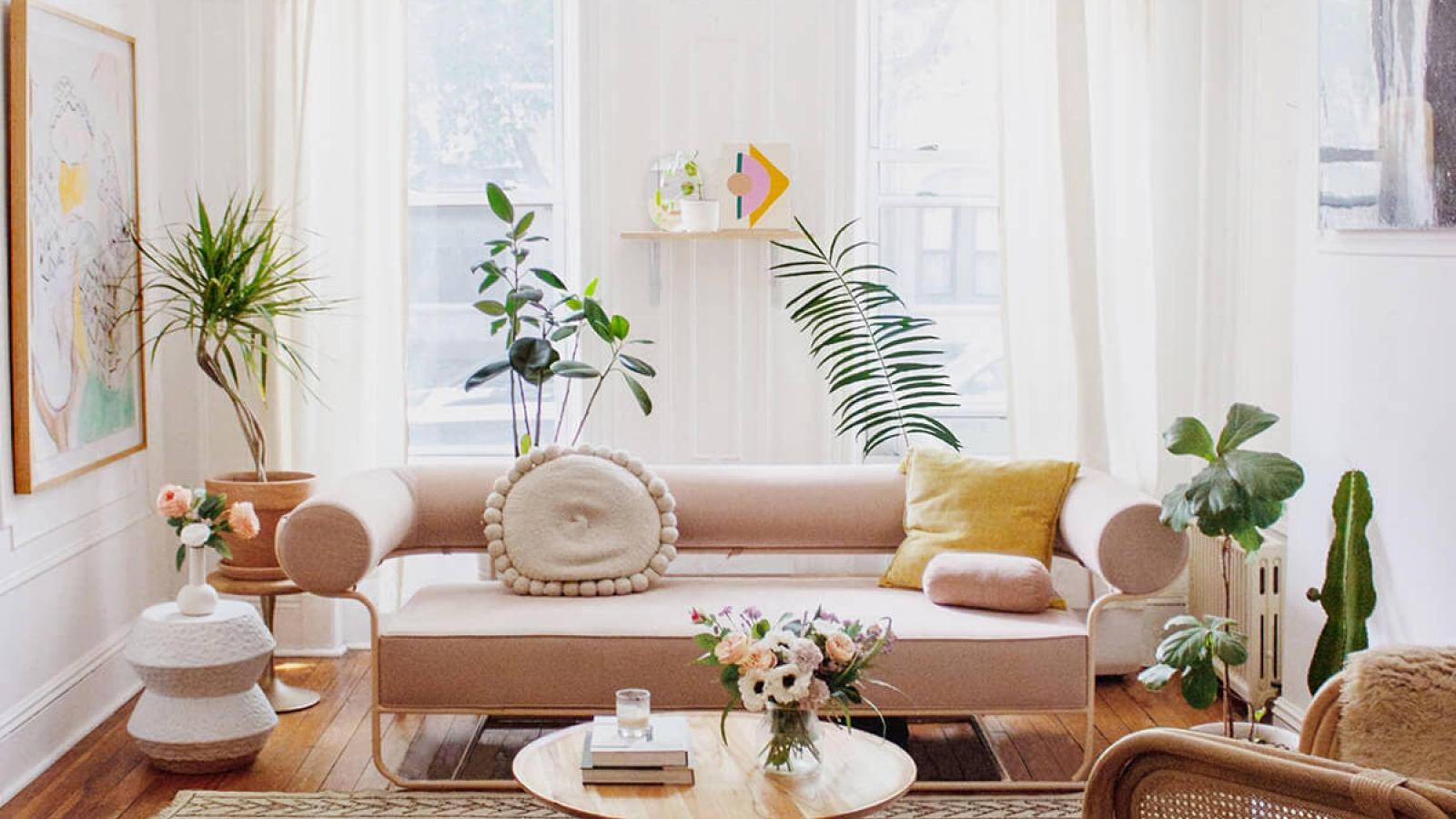 Ý tưởng thiết kế và trang trí phòng khách cho căn hộ