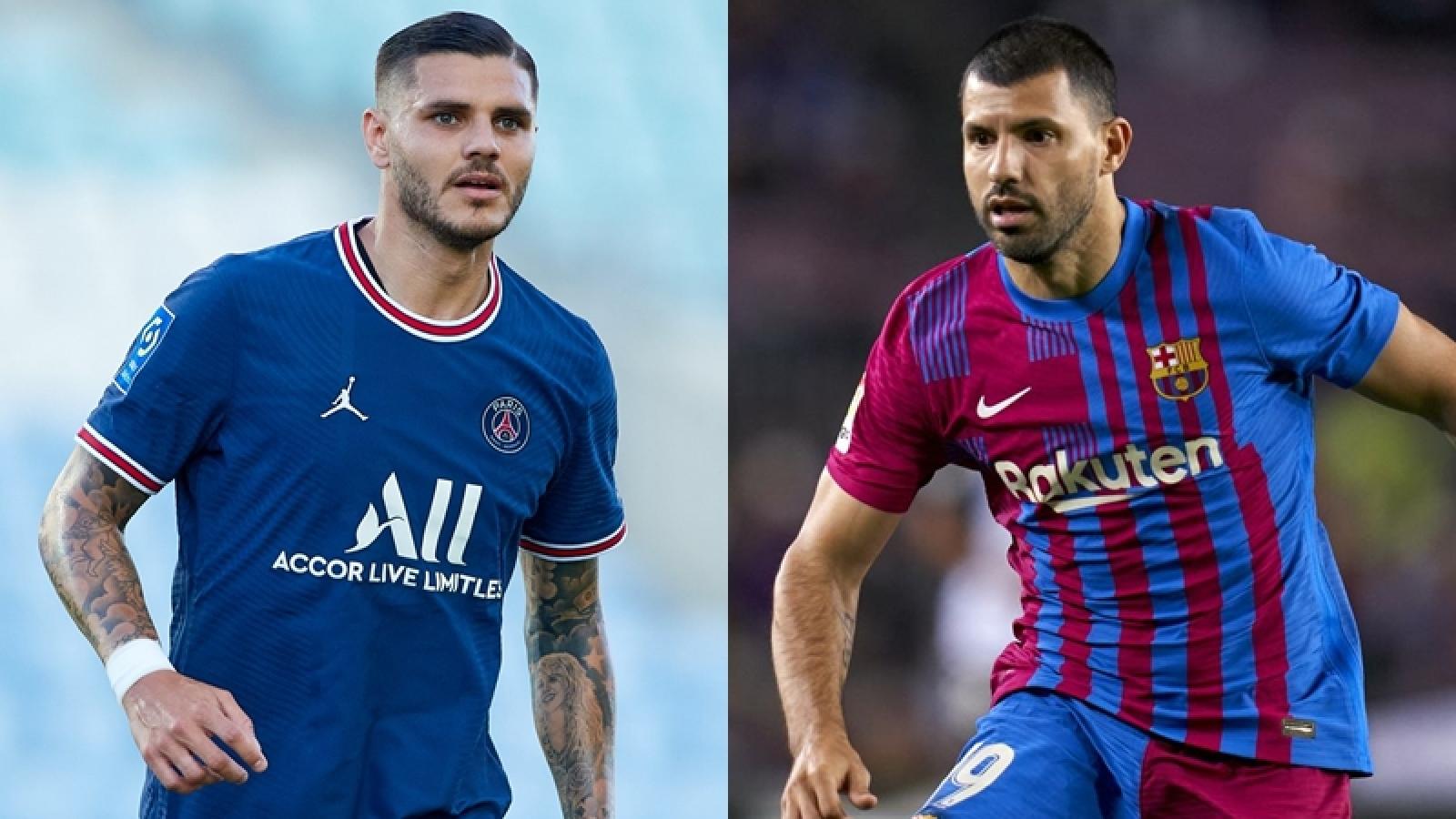Messi muốn PSG đổi Icardi lấy Aguero từ Barca