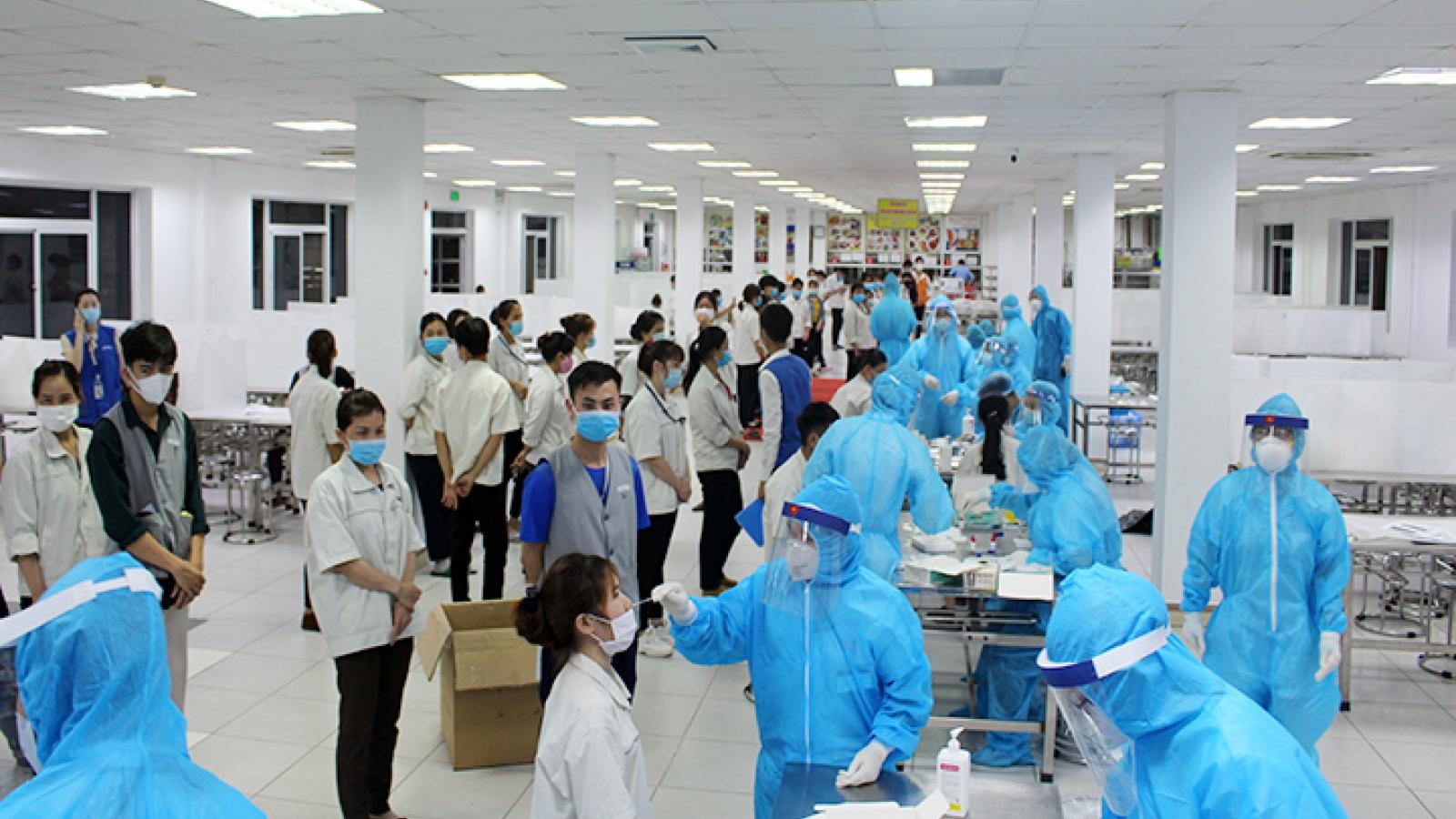Phú Thọ quyết liệt ngăn chặn nguy cơ dịch bệnh tại các khu, cụm công nghiệp