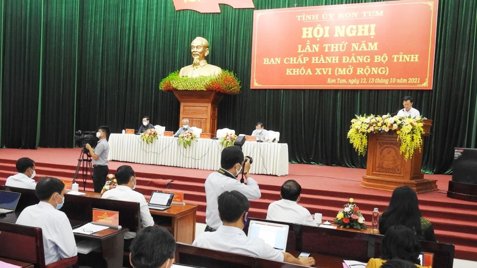 Hội nghị lần thứ 5 Ban Chấp hành Đảng bộ tỉnh Kon Tum khoá XVI