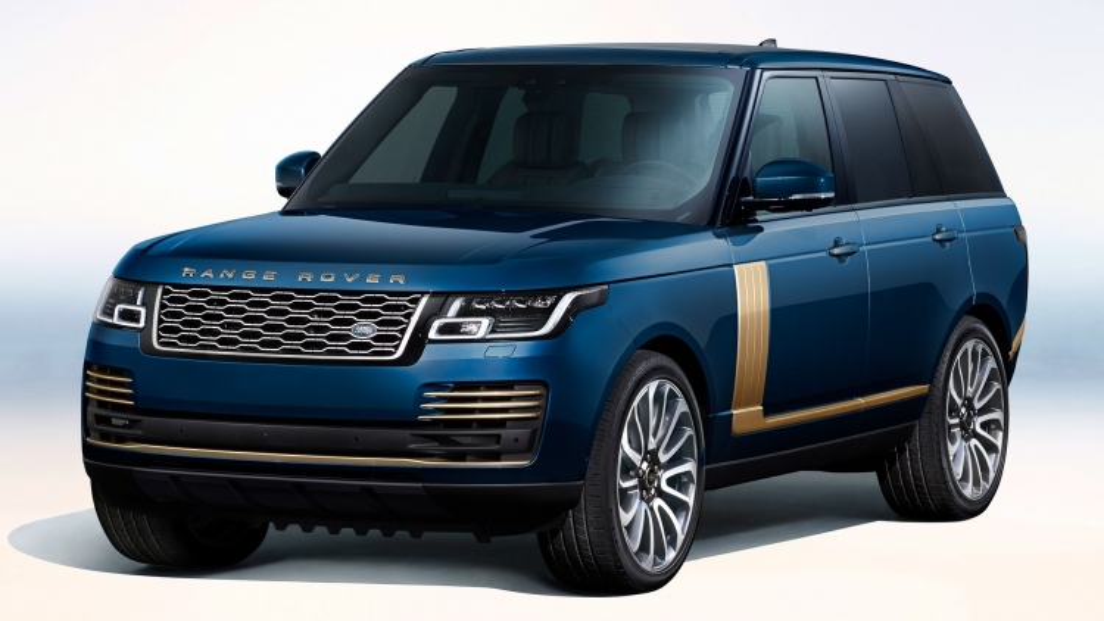 Range Rover SV có thêm bản đặc biệt Golden Edition dành riêng cho thị trường Nhật Bản