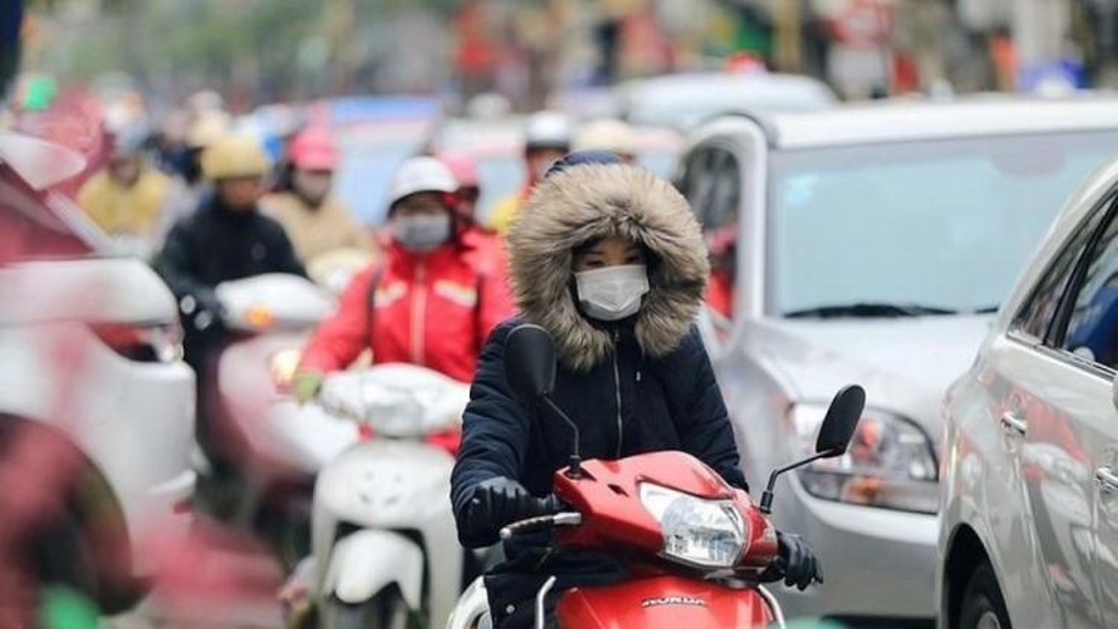Ảnh hưởng của không khí lạnh, từ Nghệ An đến Thừa Thiên Huế có mưa to đến rất to