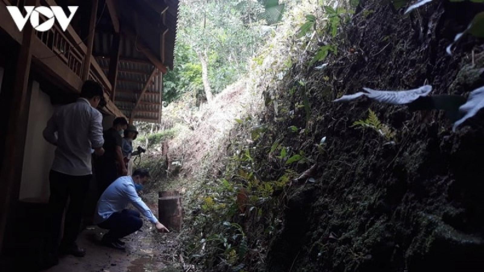 Mối lo sạt lở đất ởmiền núiThanh Hoá