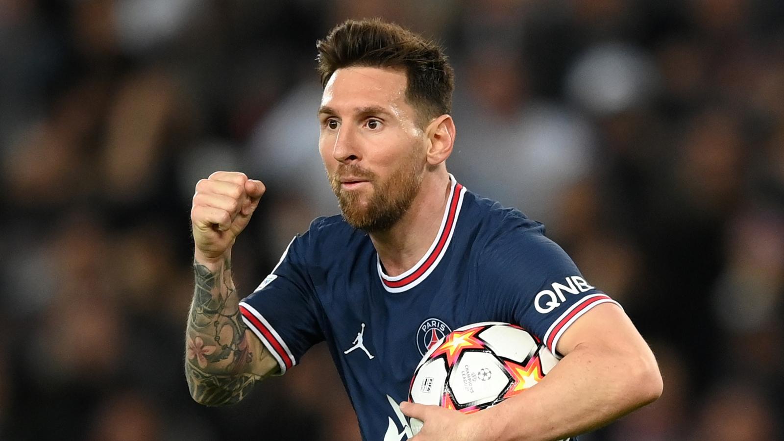 Bảng xếp hạng Cúp C1 châu Âu mới nhất: Messi đưa PSG lên đầu