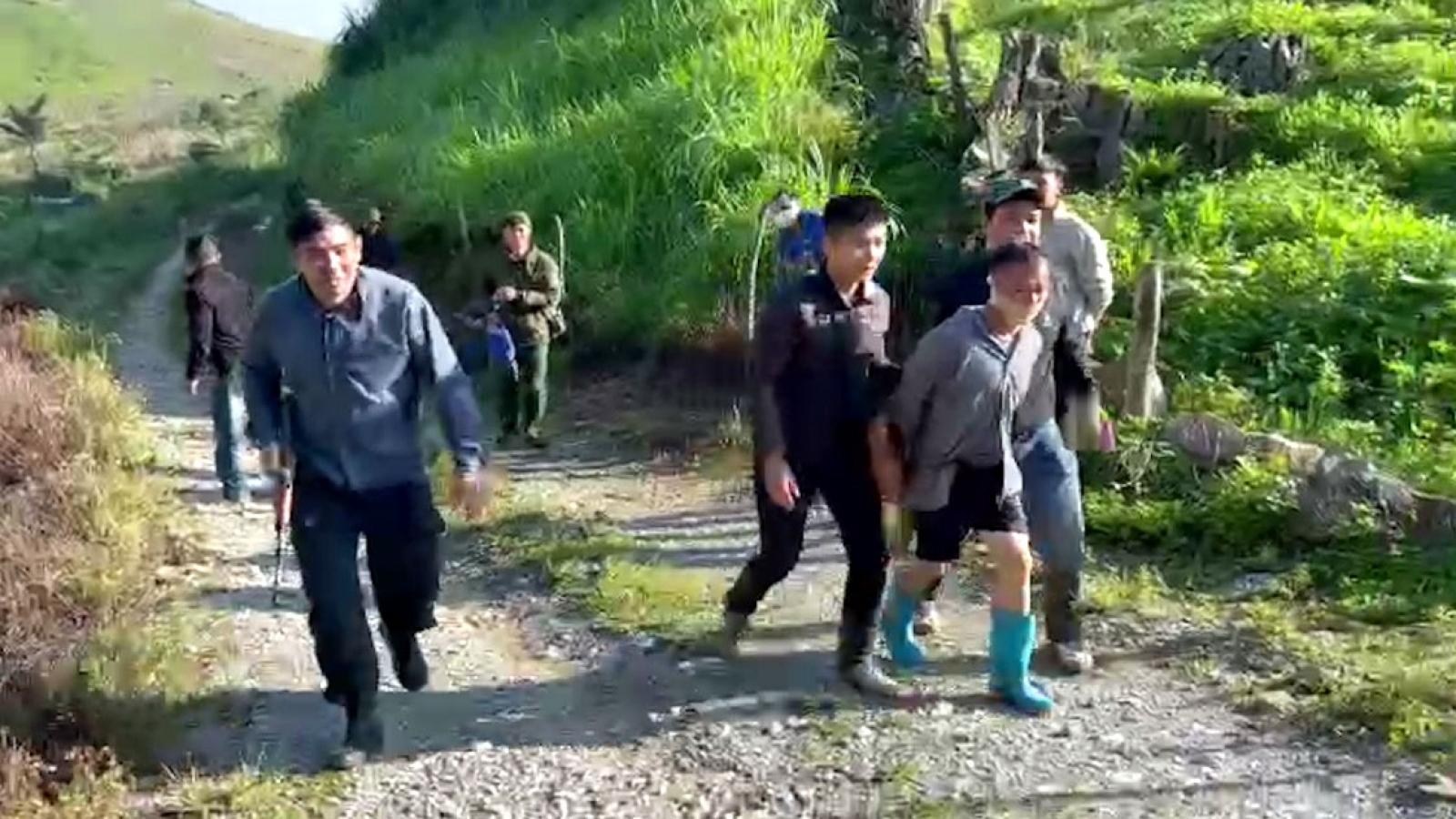 Bắt đối tượng truy nã đặc biệt nguy hiểm tại Sơn La