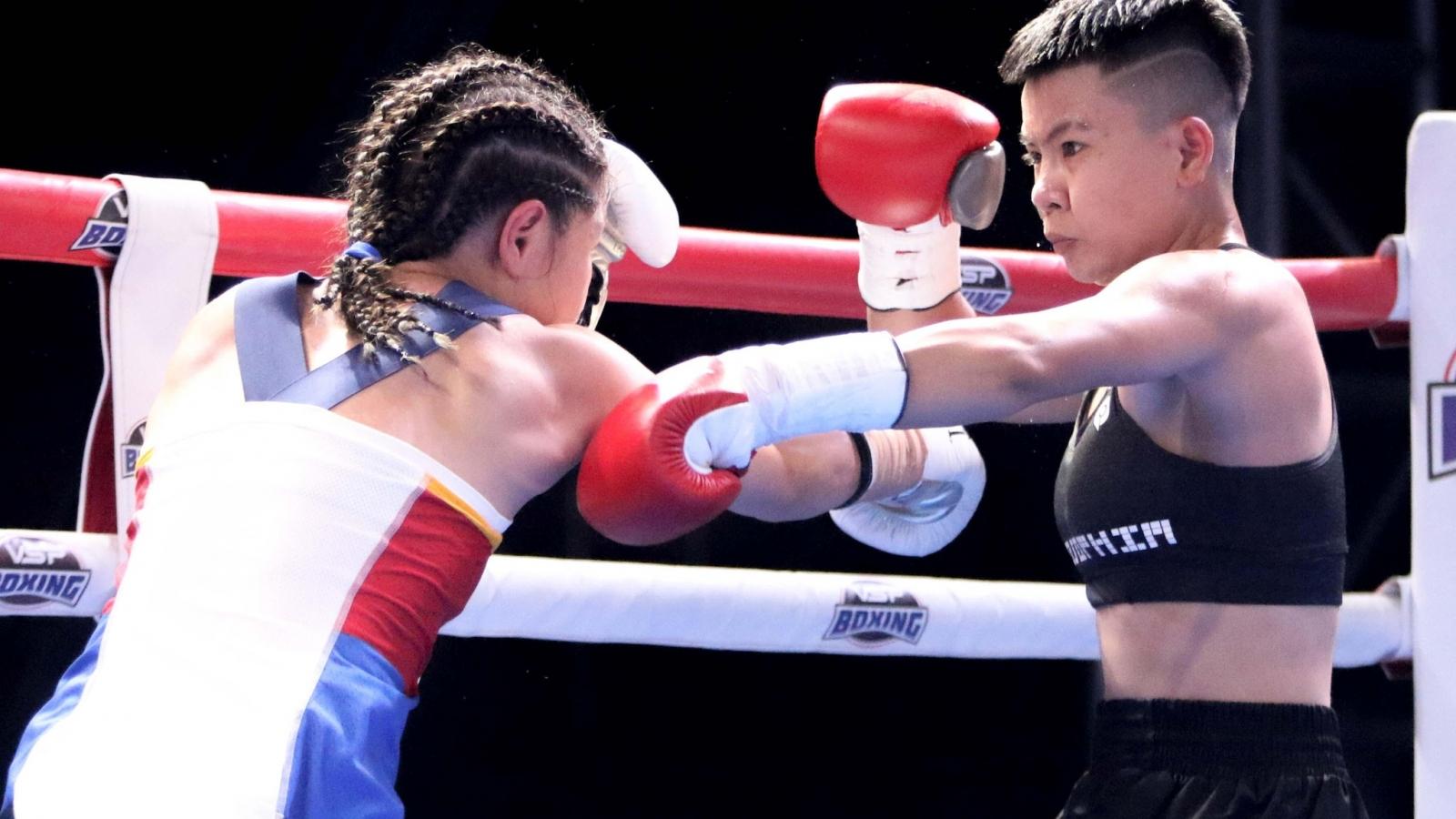 Nhà vô địch boxing WBO thế giới Nguyễn Thị Thu Nhi là ai?