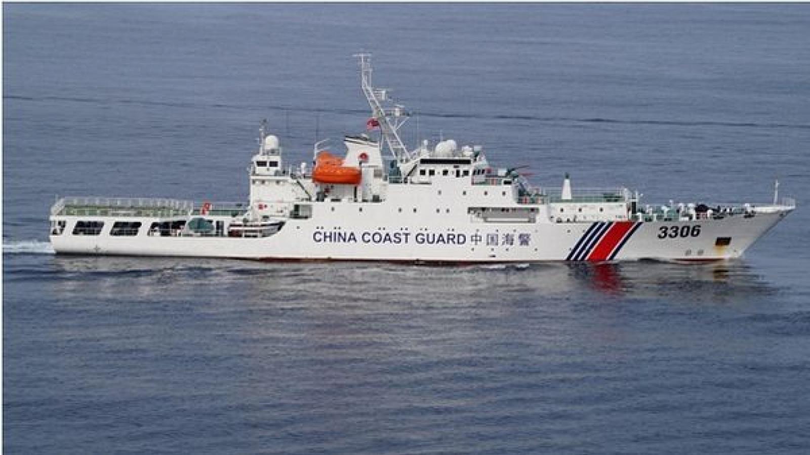 """AMTI: Trung Quốc quấy rối tàu dầu khí của Malaysia """"hàng ngày"""""""