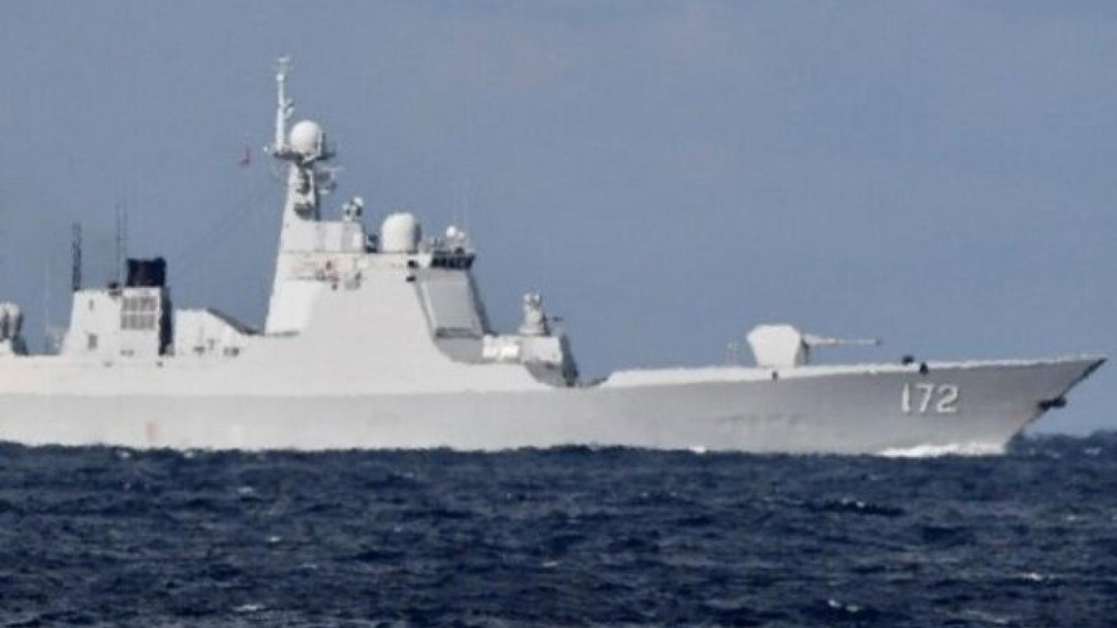 Toan tính của Nga-Trung Quốc khi cùng lúc điều tàu chiến qua eo biển gần Nhật Bản