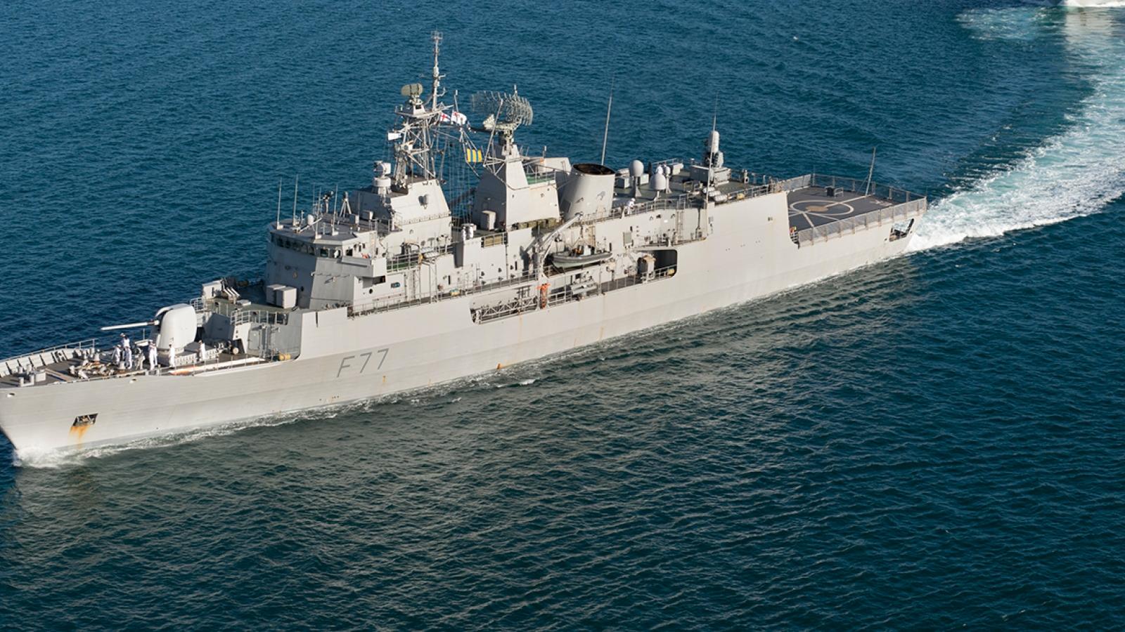 Việt Nam nói gì về thông tin chiến hạm Anh, New Zeland cùng tiến vào Biển Đông?