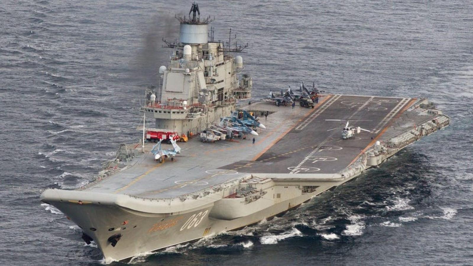 """Lý do Nga chưa bao giờ trở thành """"siêu cường"""" tàu sân bay"""