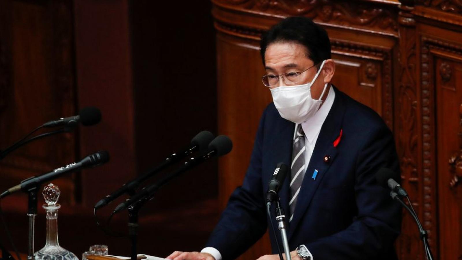 Tỷ lệ ủng hộ của người dân Nhật Bản đối với tân Thủ tướng F.Kishida ở mức 49%