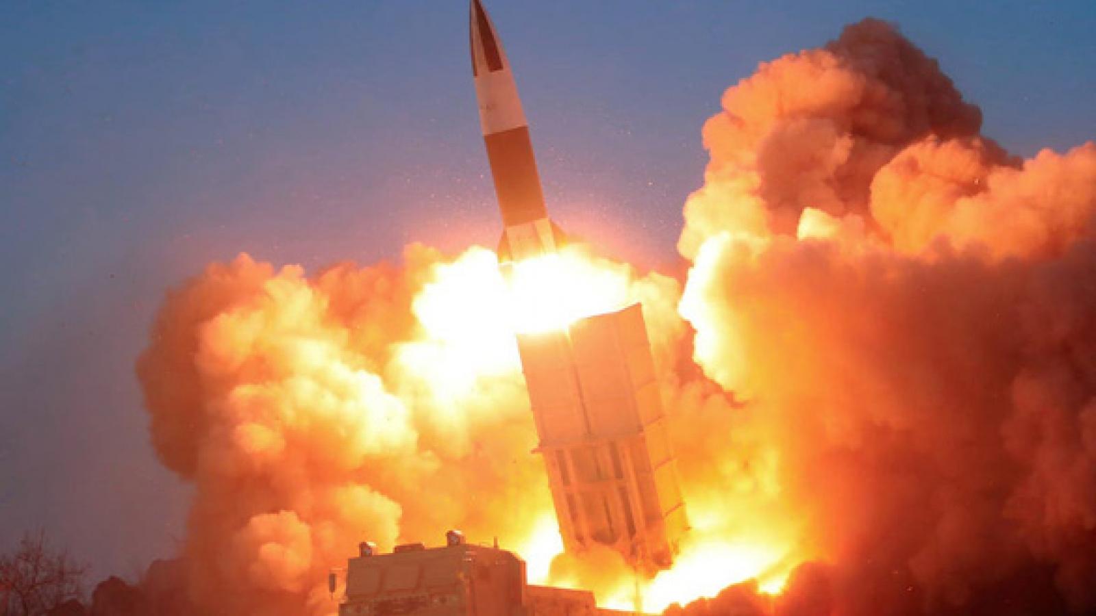 Mỹ lên án Triều Tiên phóng tên lửa đạn đạo