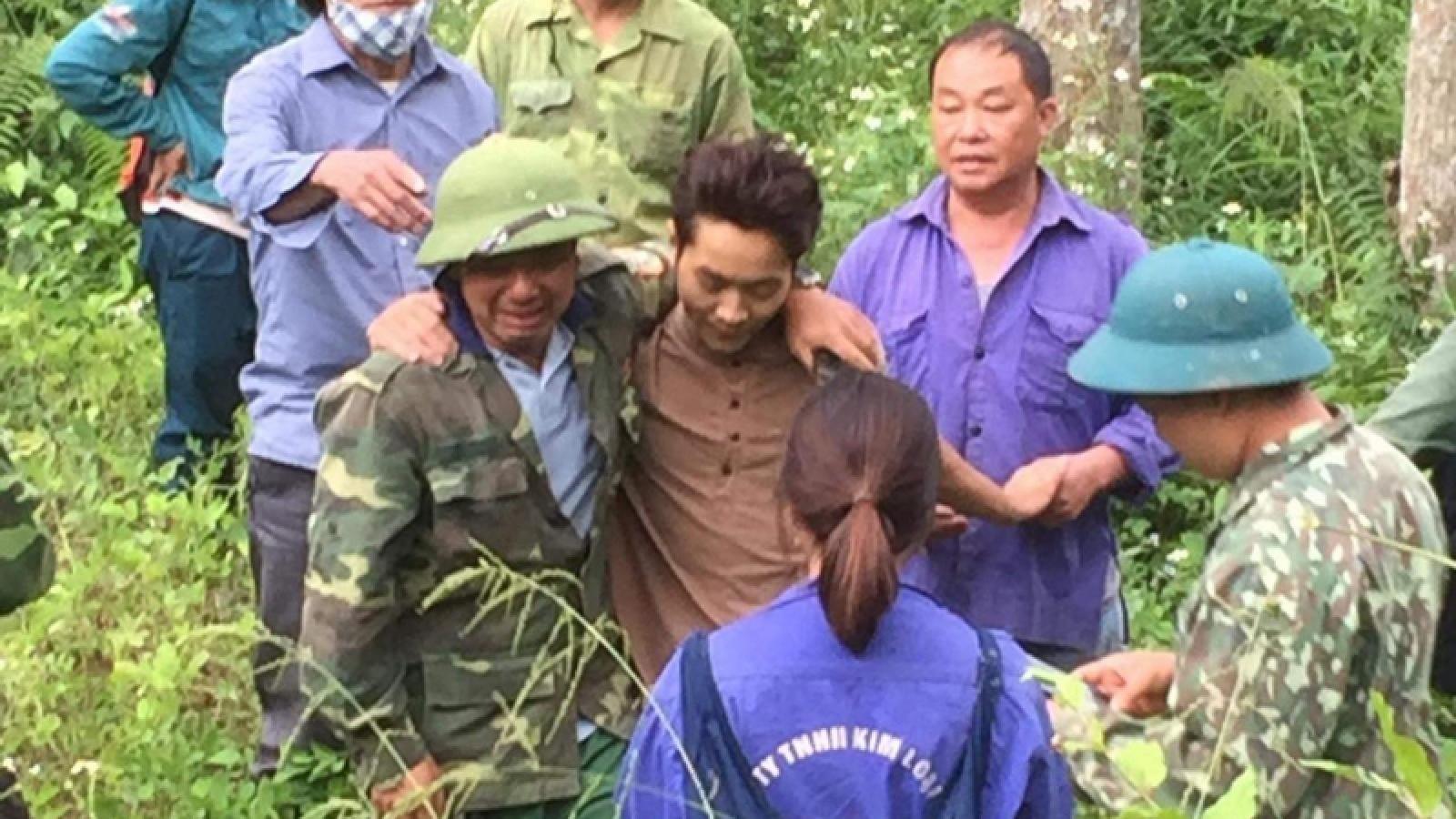 Nam thanh niên bỏ trốn lên rừng sau va chạm giao thông