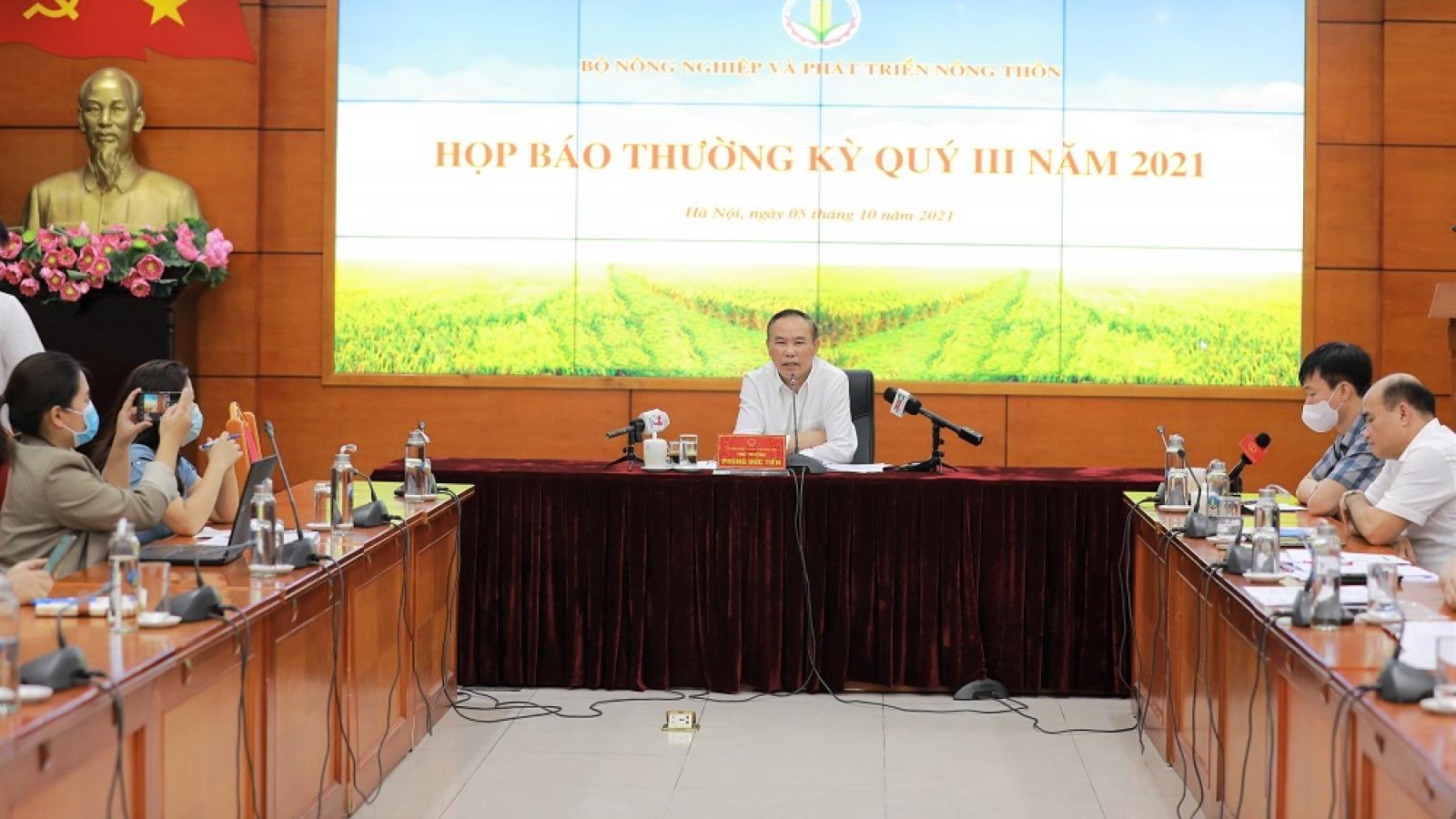 Chăn nuôi và thủy sản sẽ là 2 lĩnh vực để nông nghiệp duy trì tăng trưởng cả năm