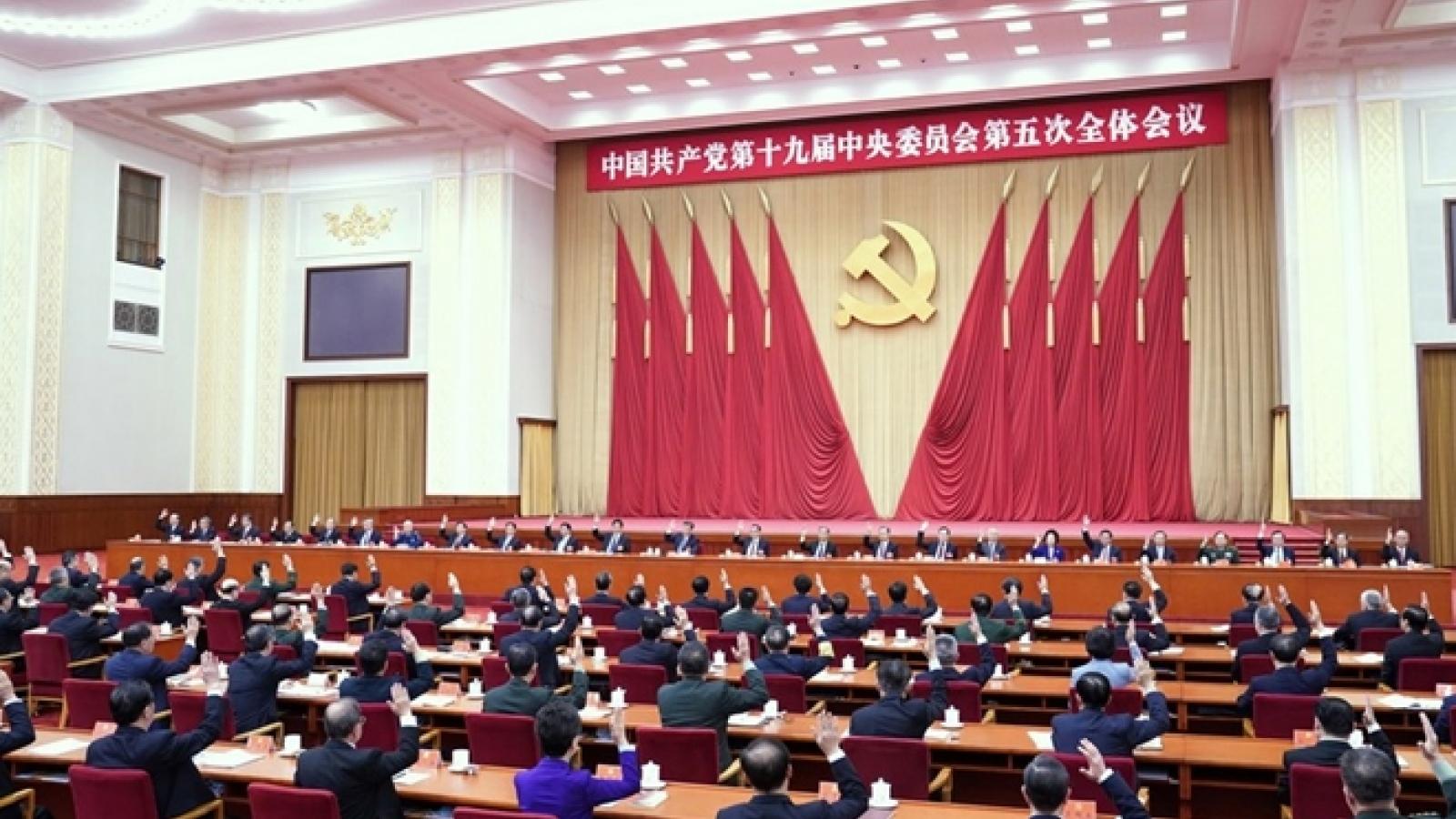 Trung Quốc tổ chức Hội nghị Trung ương 6 vào tháng 11 bàn về vấn đề lịch sử