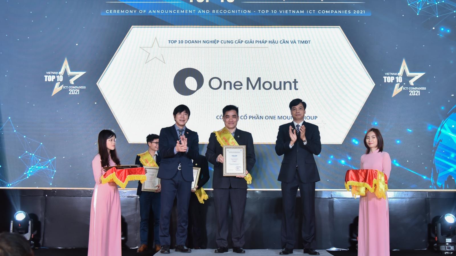 """One Mount nhận """"cú đúp"""" giải thưởng"""