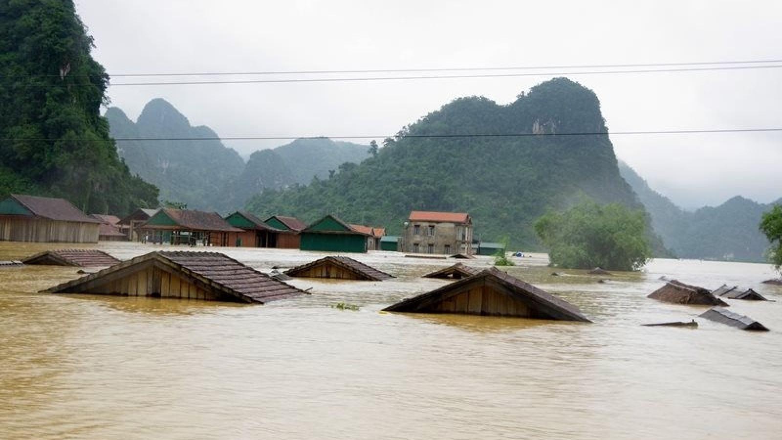Thủ tướng yêu cầu chủ động ứng phó với mưa lũ tại khu vực Trung Bộ