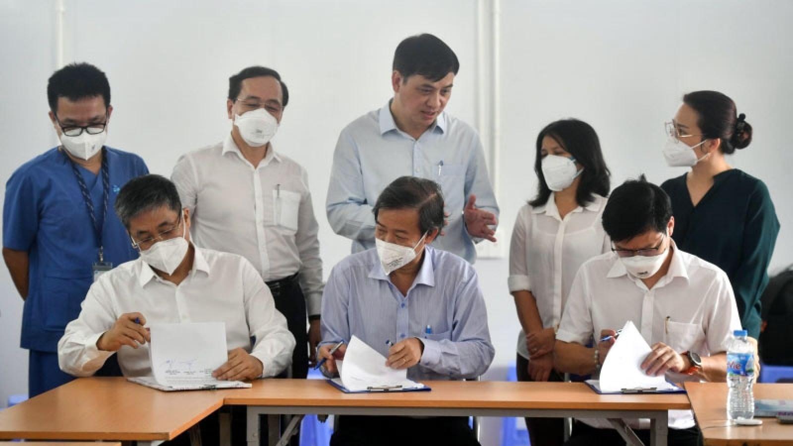 """Trung tâm Hồi sức tích cực người bệnh Covid-19 tại TP.HCM hoàn thành """"sứ mệnh"""""""